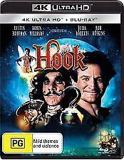 Hook 4K UHD (Blu-ray, 2018, 2-Disc Set) NEW & SEALED