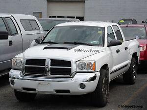 2005-2011 Hood Scoop for Dodge Dakota By MRHoodScoop UNPAINTED HS009