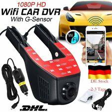 170° WiFi Dashcam Auto Kamera 1080P HD DVR Versteckte Kamera KFZ  WLAN  DE STOCK