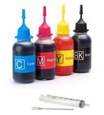 Refill Kit for HP 63 XL ENVY 4520 OfficeJet 3830 3831 3832 3834 4650 4x30ml Ink