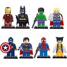 Building Block Figure 8pcs Marvel Super Heroes Avengers Infinity War Figure