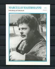 Starkarte Marcello Mastroianni - Scheidung auf italienisch  1961   (ST6)