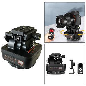 Panoramic head Motorized Pan Tilt Head Camera Tripod Mount for Cameras DSLR