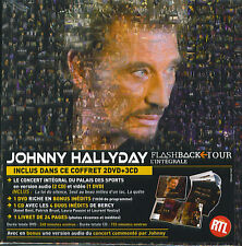 Johnny Hallyday : Flashback Tour - L'intégrale (2 DVD + 3 CD + Livret)