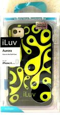 ILuv Aurora Glow-in-the-Dark estuche para iPhone (R) 4/4S - ICC765BLK por menor embalado