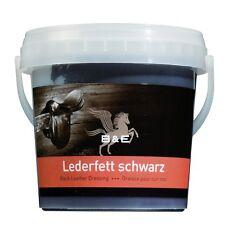 B & E Lederfett - 1000 ml - schwarz - Lederpflege Leder Pflegemittel Reinigung