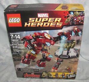 LEGO Marvel Super Heroes set 76031 The Hulk Buster Smash New MIB
