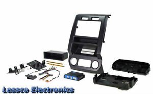 New 2017 Ford F-150 Fully Loaded Radio Dash Replacement Kit w/Climate Controls