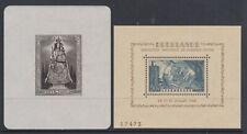 Luxembourg - SG MS 468a, MS 487a - u/m - 1945 - Lady of Luxembourg - 1946