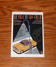 Le Flic En La Fille Postcard Promo 6x4