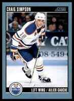 1992-93 Score Canadian Craig Simpson #260