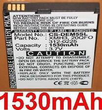 Batterie 1530mAh Pour DELL M01M, Mini 5, Streak, 20QFO 312-0225 XMH3