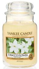 Yankee Candle Candela profumata Giara Grande Tobacco Flowers durata 150 ore