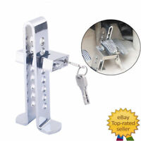 Stainless Steel Truck Van Car Brake Clutch Foot Pedal Lock Security Anti-Theft
