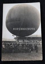 Altes Foto Ballon Flug AACHEN um 1925