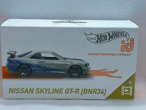 2021 Hot Wheels ID Nissan Skyline GT-R (BNR34) Fast & Furious Livery NIP