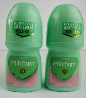 Mitchum Women Roll-On Antiperspirant Deodorant Powder Fresh, 1.7oz, 2 Pack
