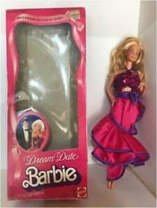 DREAM DATE BARBIE MATTEL #5868, SWIRL DRESS. 1982.TNT. B/KNEES. (BD272) Orig Box