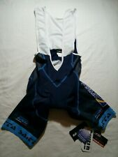 Giessegi  GSG men's cycling bib shorts.Color navy blue.Made in Italy.Size XL.