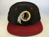 Kids Youth Size Washington Redskins NFL Vintage Snapback Hat Cap Black Burgundy