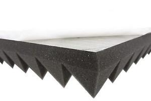 Pyramidenschaumstoff (ca. 100x50x5cm) SELBSTKLEBEND Akustik Schaumstoff Dämmung