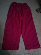 Women's scrub pants 1X Large Pink