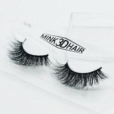 3D Make Up Natur 100% Mink Nerz Falsche Wimpern Schwarz Künstliche Lang Eyelash