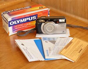 Olympus NEWPIC Zoom 90 Point & Shoot APS Film Camera