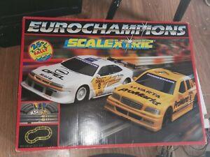 Eurochampions Scalextric Boxed