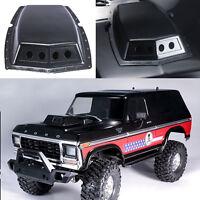 Simulation Bonnet Vent Hood Cover Air Intake for 1/10 Traxxas TRX-4 Ford Bronco