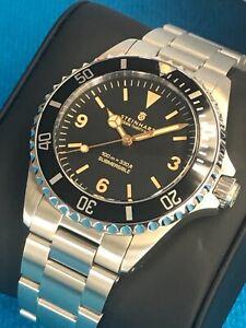 Steinhart Ocean one dive watch, Rolex Submariner Explorer dial homage, 39mm