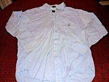 Lot of Twelve (12) Men's Shirts Hilfiger Polo Nautica Abercrombie Sizes L-XXL