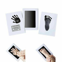 Non-Toxic Baby Hand Print Inkless Pad Touch Ink Newborn Footprint Kit Gift
