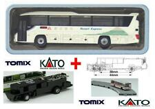 KATO by TOMIX AUTOBUS-1 + CHASSIS MOTORE ELETTRICO-MAGNETICO per SET BUS SCALA-N