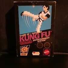 KUNG FU NINTENDO NES 8 BIT ITALIANO MARIO PAL A MATTEL LOTTO STOCK BLACK BOX