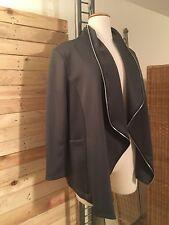 * Le Freres by LA BASS * Stylische Swinger-Jacke im Neopren-Look, Gr 42-44 (EG)