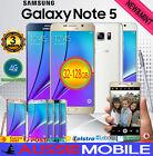 NEW SAMSUNG GALAXY NOTE 5 SM-N920 32GB 64GB 4GLTE UNLOCKED AU WARRANTY