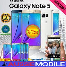 NEW SAMSUNG GALAXY NOTE5 SM-N920 32GB 64GB 4GLTE UNLOCKED AU WARRANTY