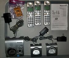 Panasonic KX-TG1031S Cordless Handsets with Answering Machine - With 3 Handsets
