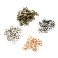 10PCS 4.5MM Diy Mini Japanese Word Buckles For Bjd Blyth Doll Shoes Clothes E&F