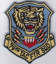 USAF Air Force 79TH TAC FTR SQD RAF Upper Heyford England USAFE patch