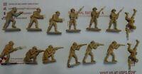 NS510 Airfix 1/32 British Eighth Army men soldiers vintage 8th