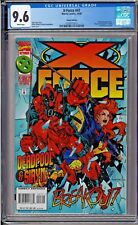 X-Force #47 CGC 9.6 White Pages DELUXE EDITION Deadpool Siryn