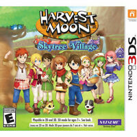 Harvest Moon Skytree Village - Nintendo 3DS [video game]