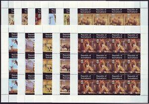 12X Somaliland 1997  Animals ** MNH set (12 X 11v) ** MNH