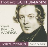 Robert Schumann Complete Piano Works Coffret 13 Cd Jord Demus