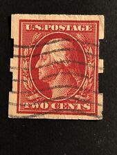 Stamp Usa 1912 Variety Used Rare
