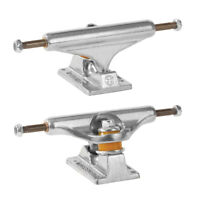 """Independent Skateboard Trucks Stage 11 Standard Silver Raw 129 (7.6"""") Pair of 2"""