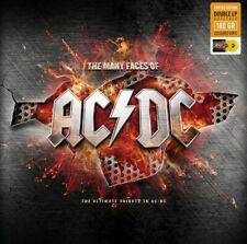 AC/DC - The Many Faces Of AC/DC - 2020 New 2 X Yellow Vinyl Lp Factory Sealed