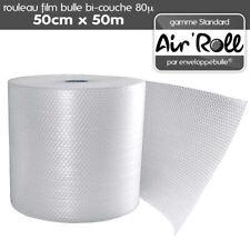 Rouleau de Film Bulle d'Air - 50cm x 50m (3662731015738)